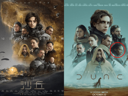 Chinese 'Dune' Poster Removes Black Actress Sharon Duncan-Brewster