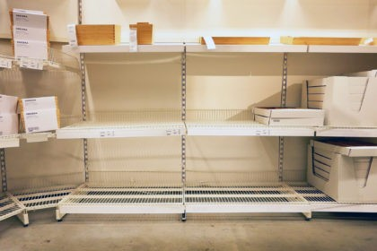 LOOK: Ikea Store Shelves Sit Empty as World's Largest Furniture Seller Hit By Global Supply Chain Issues