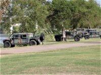 PHOTOS: Texas National Guard Blocks Border Crossing near Wall Project