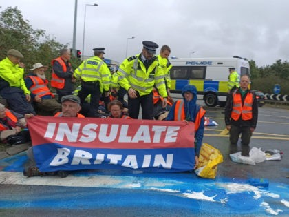 Insulate Britain protest, 27 September, 2021