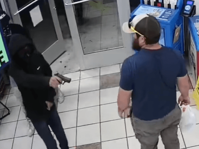 VIDEO: Marine Takes Gun From Alleged Robber in Arizona Convenience Store