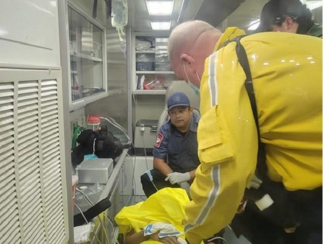 Migrant rescued in Kingsville, Texas, area. (Photo: U.S. Border Patrol/Rio Grande Valley Sector)
