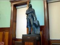 NYC Fells Thomas Jefferson Statue, Founding Father, 3rd U.S. President