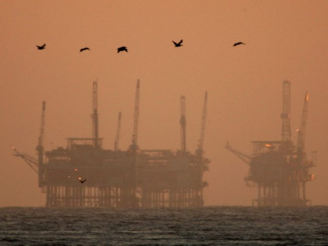 Offshore oil California (David McNew / Getty)
