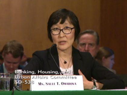 Senate Committee on Banking, Housing and Urban Affairs, Screenshot