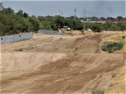 Border area cleared for construction of Texas-funded border wall. (Photo: Randy Clark/Breitbart Texas)