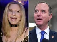 Barbra Streisand Gushes over Adam Schiff's New Anti-Trump Book