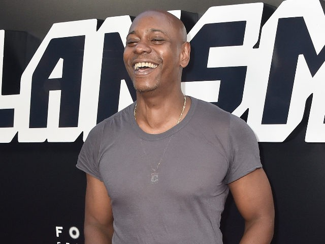 """BEVERLY HILLS, CA - AUGUST 08: Dave Chappelle attends the Premiere Of Focus Features' """"BlacKkKlansman"""" at Samuel Goldwyn Theater on August 8, 2018 in Beverly Hills, California. (Photo by Frazer Harrison/Getty Images)"""