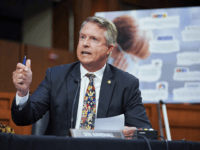 Exclusive — Sen. Roger Marshall: We Force Five-Year-Olds to Get Vaccines, Wear Masks While Opening Border to Untested, Unvaccinated Migrants