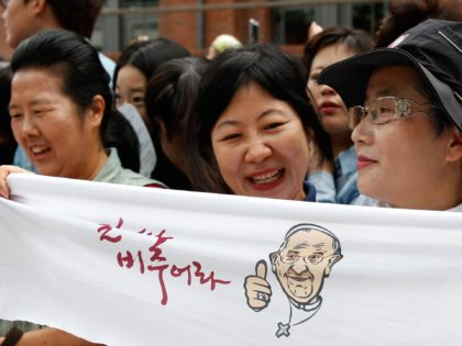 Seoul: A Visit to North Korea by Pope Francis Would 'Greatly Contribute' to Peace
