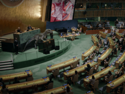 WATCH: Cartoon Dinosaur Lectures World Leaders on Climate in Infantile UN Video
