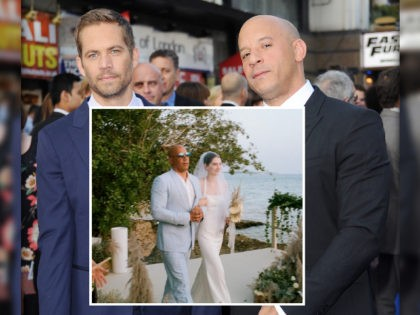 Vin Diesel Walks Late 'Fast & Furious' Co-Star Paul Walker's Daughter Down the Aisle