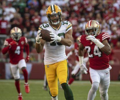 Allen Lazard joins fellow WR Davante Adams on Green Bay Packers' COVID-19 list