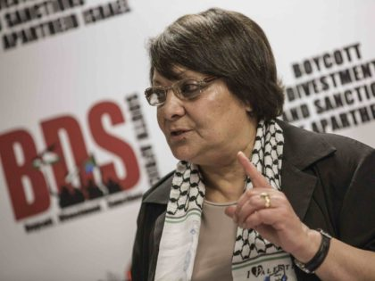 Leila Khaled BDS (Gianluigi Guercia / AFP / Getty)