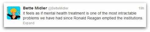 Bette Midler tweet Reagan