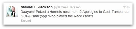 Samuel Jackson Apology