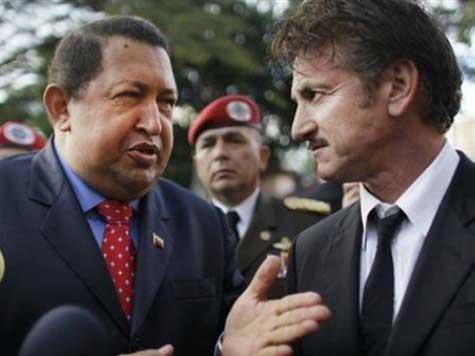 Sean Penn Visits 'Friend' Hugo Chavez, Trashes GOP