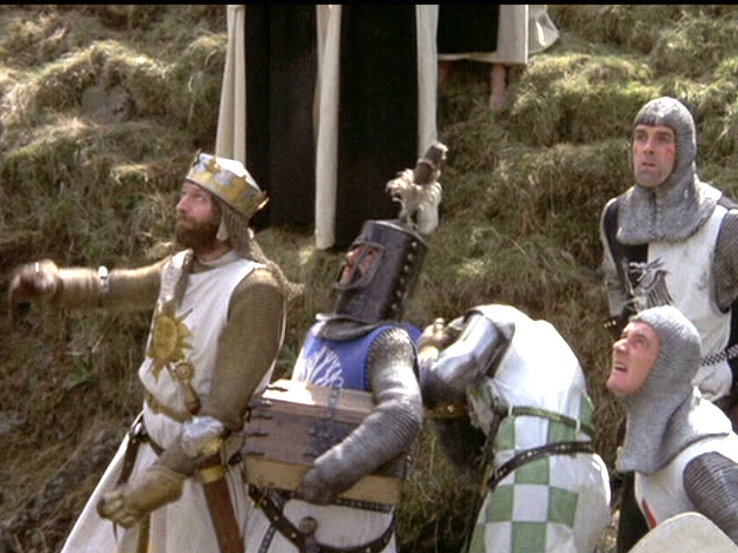 'Monty Python and the Holy Grail' Blu-ray Review: Killer Rabbits and Other Glorious Nonsense