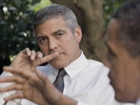 Clooney: Dems Can't Explain How Great Obama Is