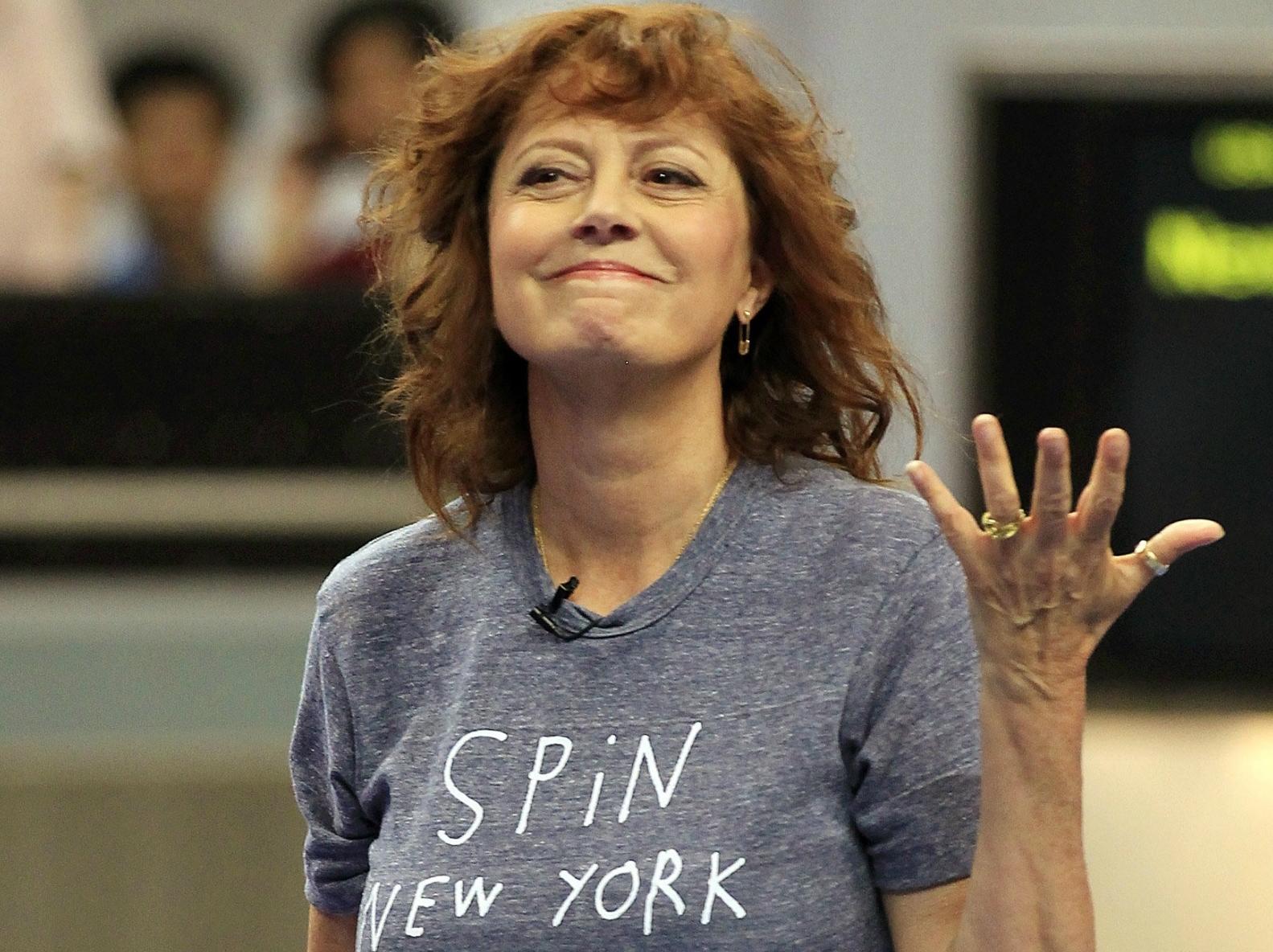Susan Sarandon: Limbaugh Listeners 'Nonthinking,' GOP Candidates 'Ridiculous'