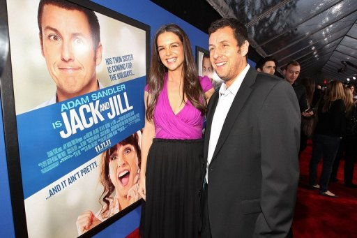 Sandler's 'Jack and Jill' Sets Razzie Record