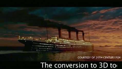 'Titanic' Sets Sail Again Towards Huge Opening Weekend