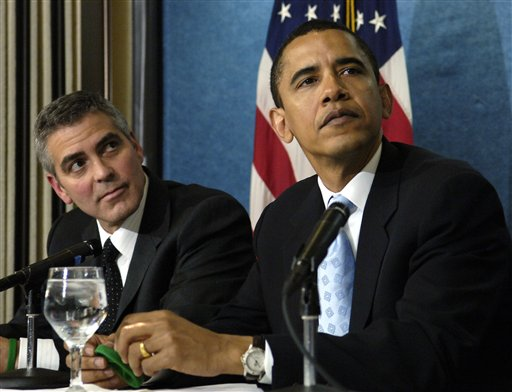 Clooney's Presidential Fundraiser: One-Percenters Living Large to Help the Poor