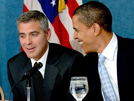 George Clooney Deigns To Dine With Commoners For Obama