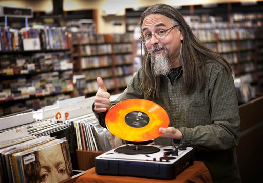 New Vinyl Album Releases Give Record Stores a Kick