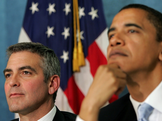 Obama Tweets: Meet Me and Clooney, Make Your Life Complete