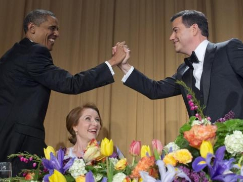 Kimmel at White House Correspondents Dinner: One Term, Not Two, For Obama