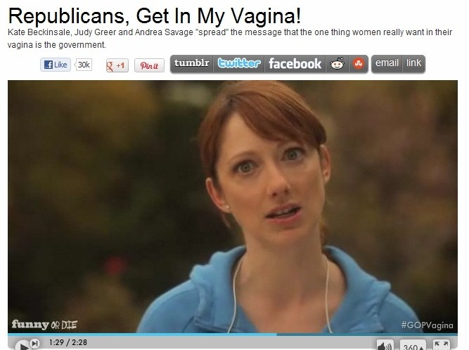 Funny or Die Joins Phony War on Women Meme Against GOP
