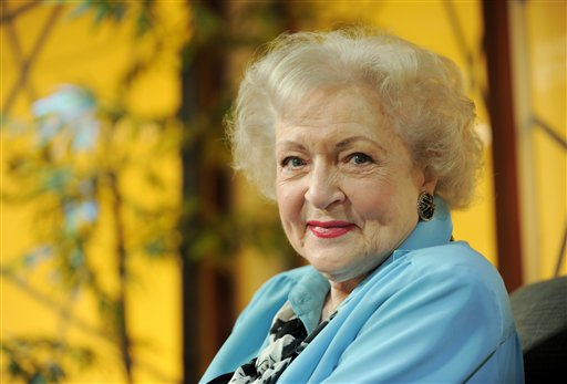 Betty White 'Very, Very Much Favors' Obama for President