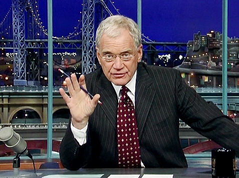 One Percenter Letterman Mocks Romney for Being Rich