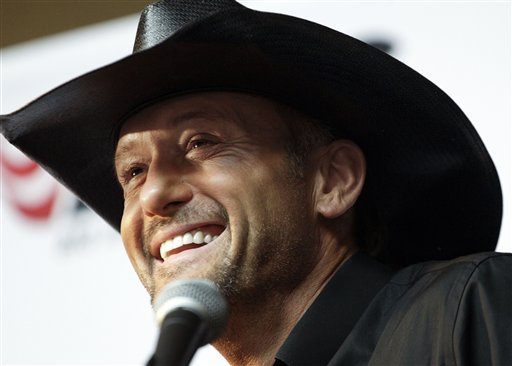 Tim McGraw Looks to Rev Up Career with Big Machine