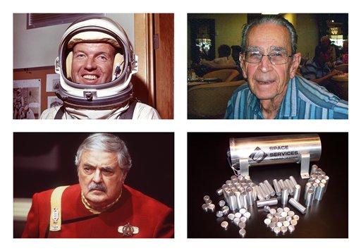 'Star Trek' Actor's Ashes in Orbit