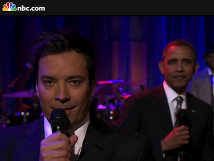 Jimmy Fallon: 'The President Booked Himself On Our Show'