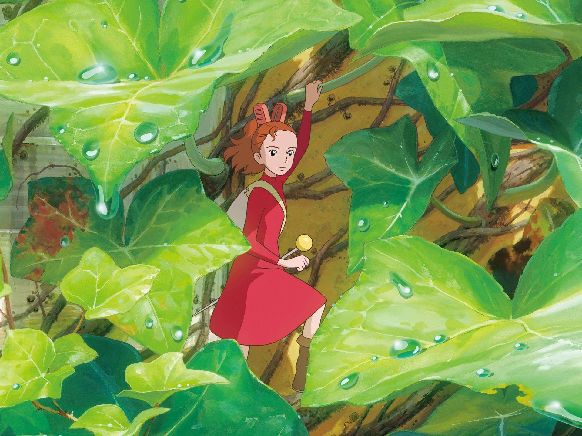 HomeVideodrome: Whimsical 'Arrietty' Fuses Disney, Japanese Animation Flourishes