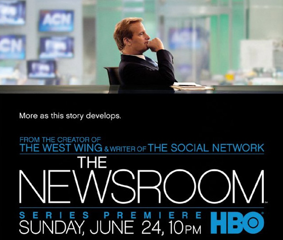 """The Newsroom"" Pilot Review: Sorkin's Politics Hinder Show's Ambition"