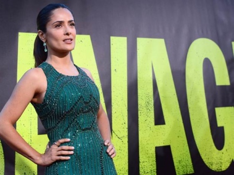 Salma Hayek: Mexican Cartel Violence 'Done with American Arms'