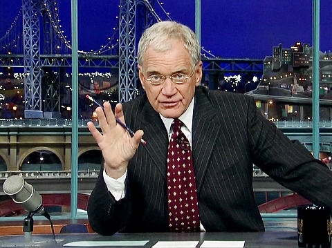 Letterman: Romney Promises to Put Gay CNN Anchor 'Back in the Closet'