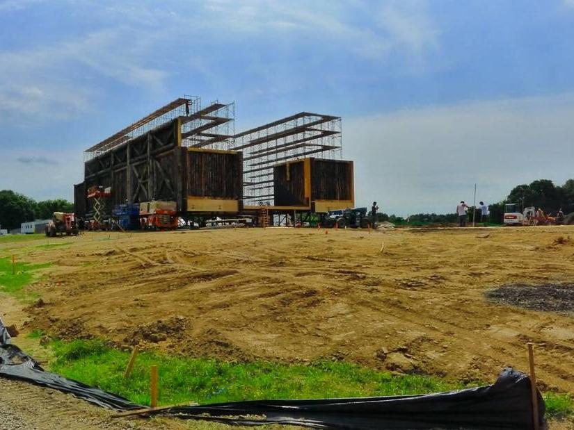 Aronofsky's Biblical Ark Under Construction