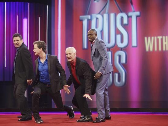 Cuban, Gervais Ready for 'Trust Us' Improv Treatment