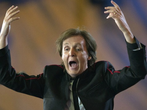 McCartney Paid One Pound ($1.57) for Olympics Gig