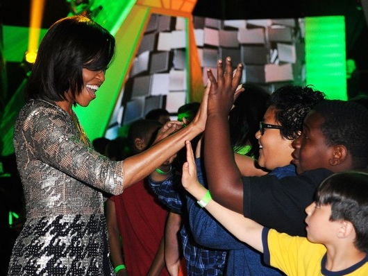 Michelle Obama Wants the 10-Year-Old Vote, Too