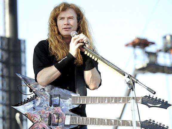 Megadeth's Mustaine: Obama 'Staged' Movie Theater Massacre to Spur Gun Ban