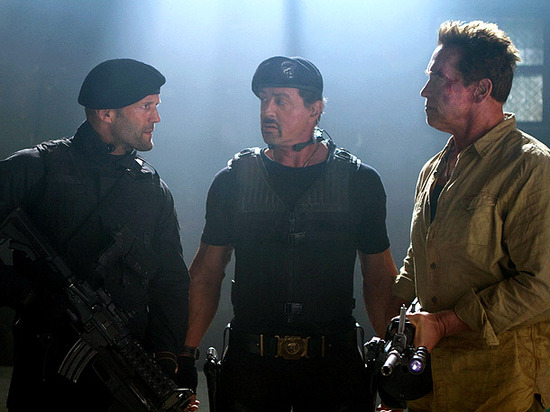 'Expendables 2' Muscles Past Competition for No. 1 Slot
