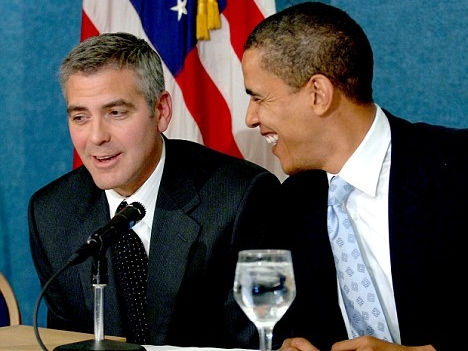 Clooney Star Guest at Obama's Switzerland Fundraiser