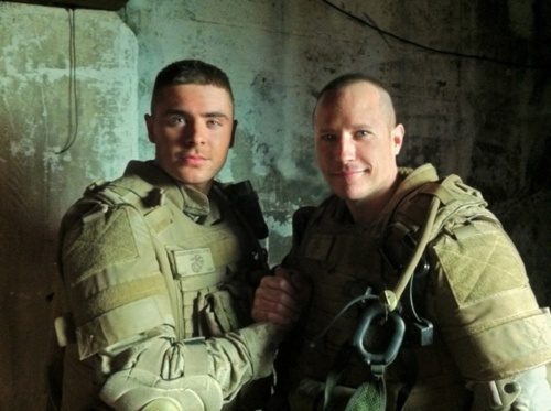 Semper Fi! Efron Salutes Marines in 'Lucky One' Blu-ray