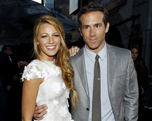 'Green Lantern' Co-Stars Ryan Reynolds and Blake Lively Wed